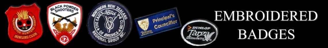 Precision Badges New Zealand  School Title Bars  Name