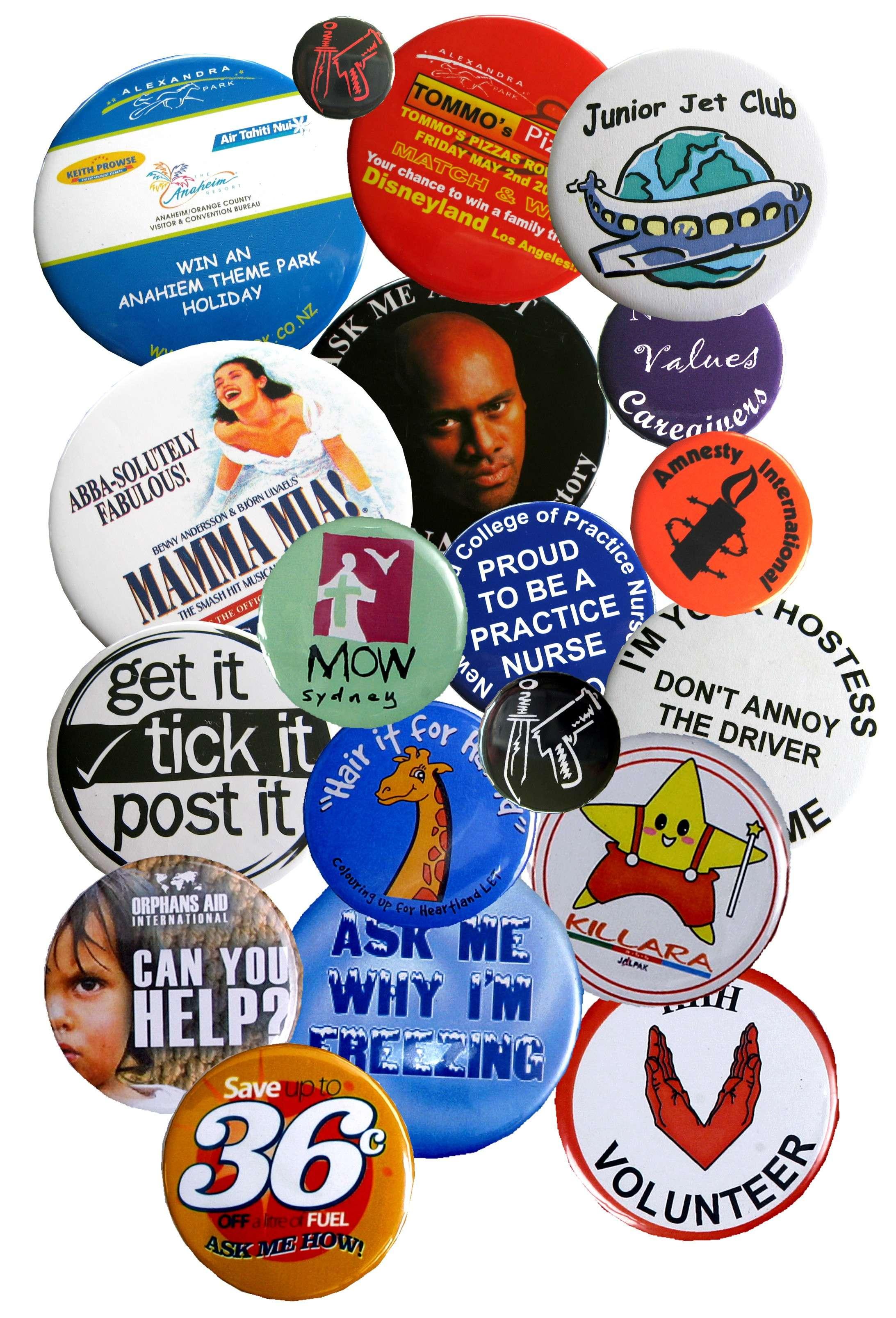 Buy Button Badges Nz