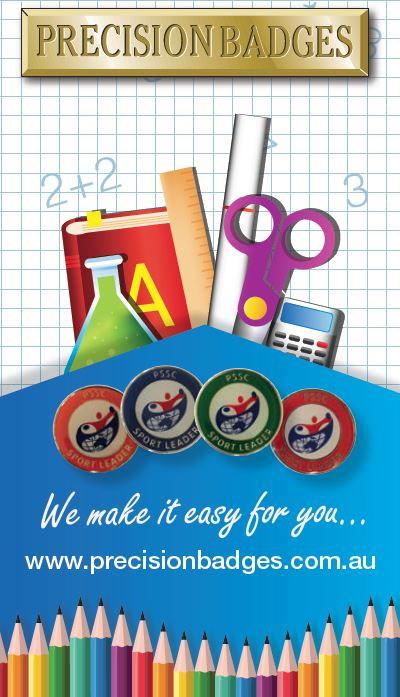 Precision Badges 2018 School Brochure Australia
