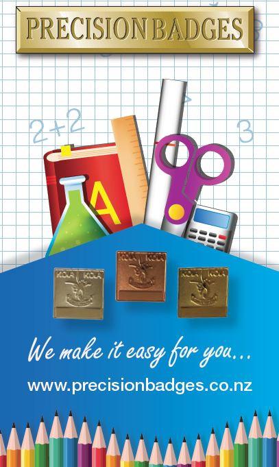 Precision Badges NZ School Badges