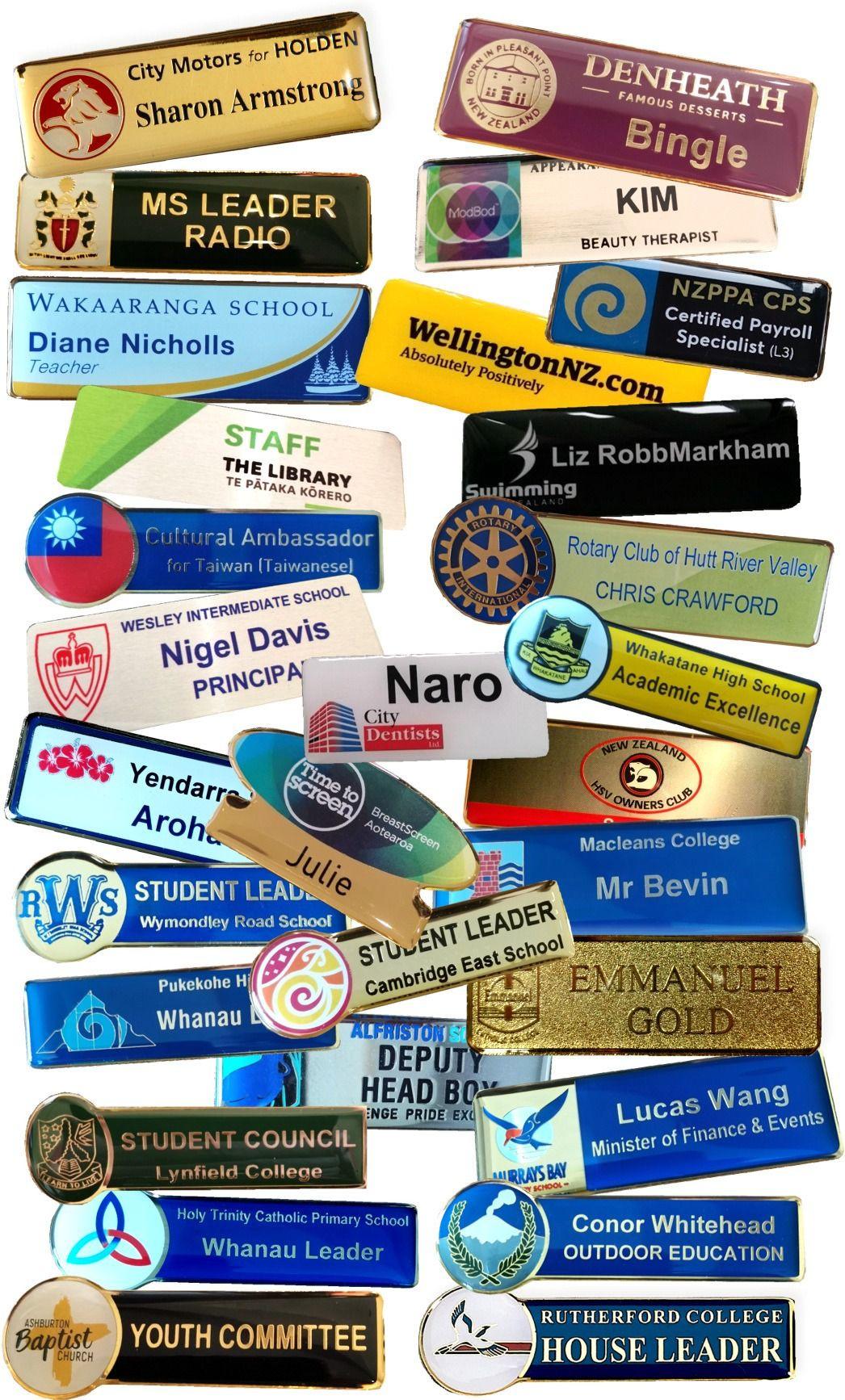 Precision Badges Examples Nz 2021v2