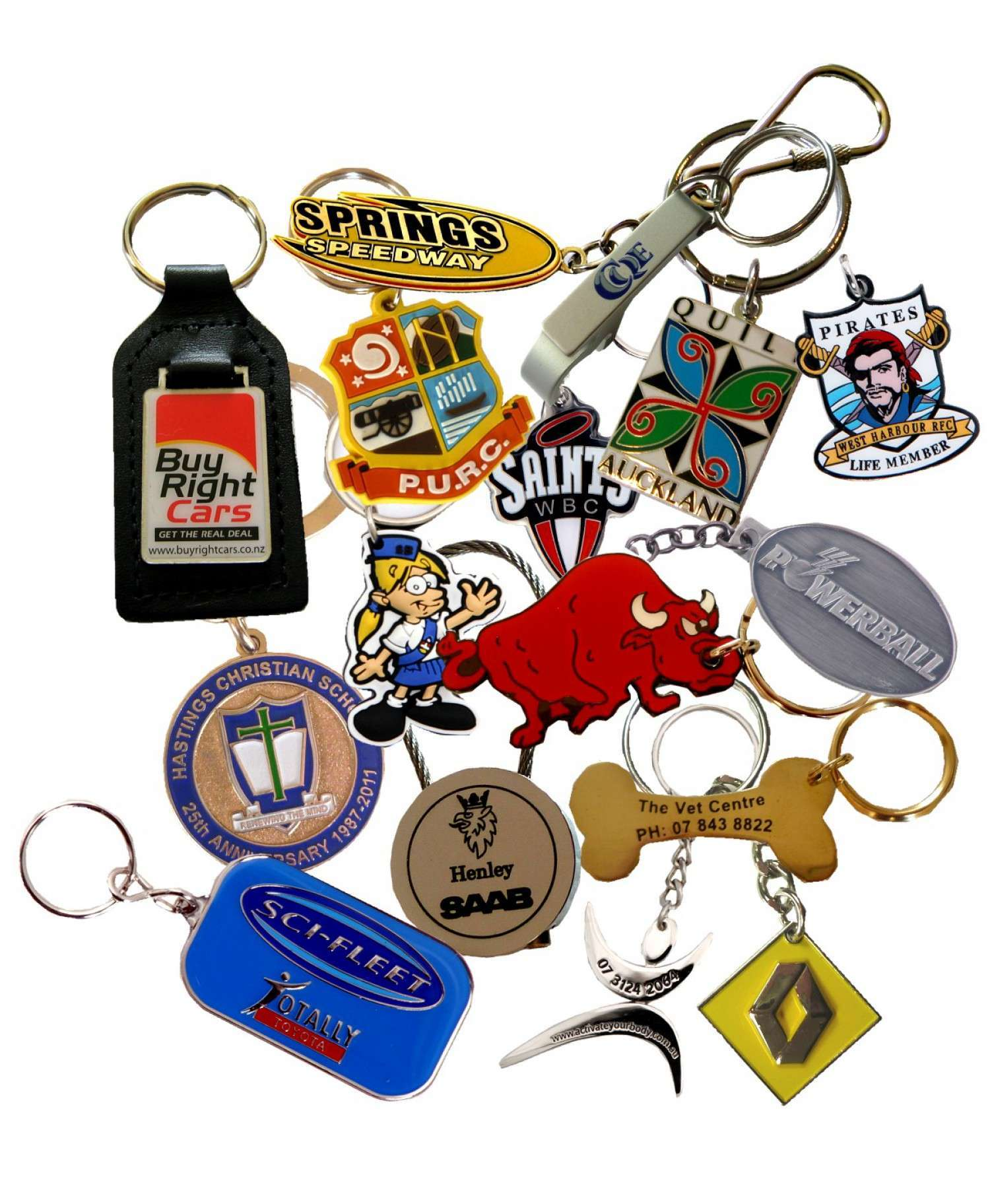 Key Rings - Store - Precision Badges New Zealand