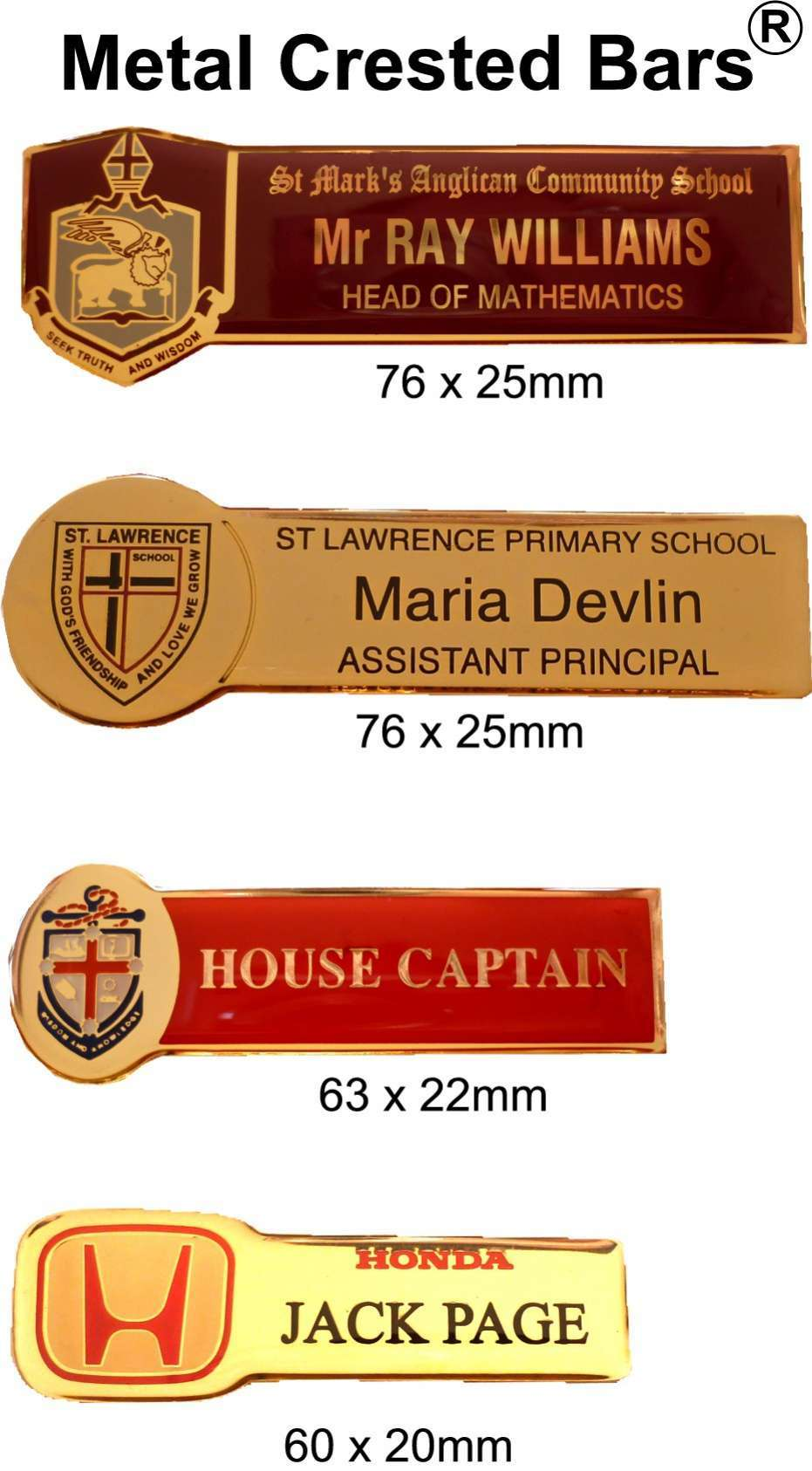 Western Australia Products - Name Badges