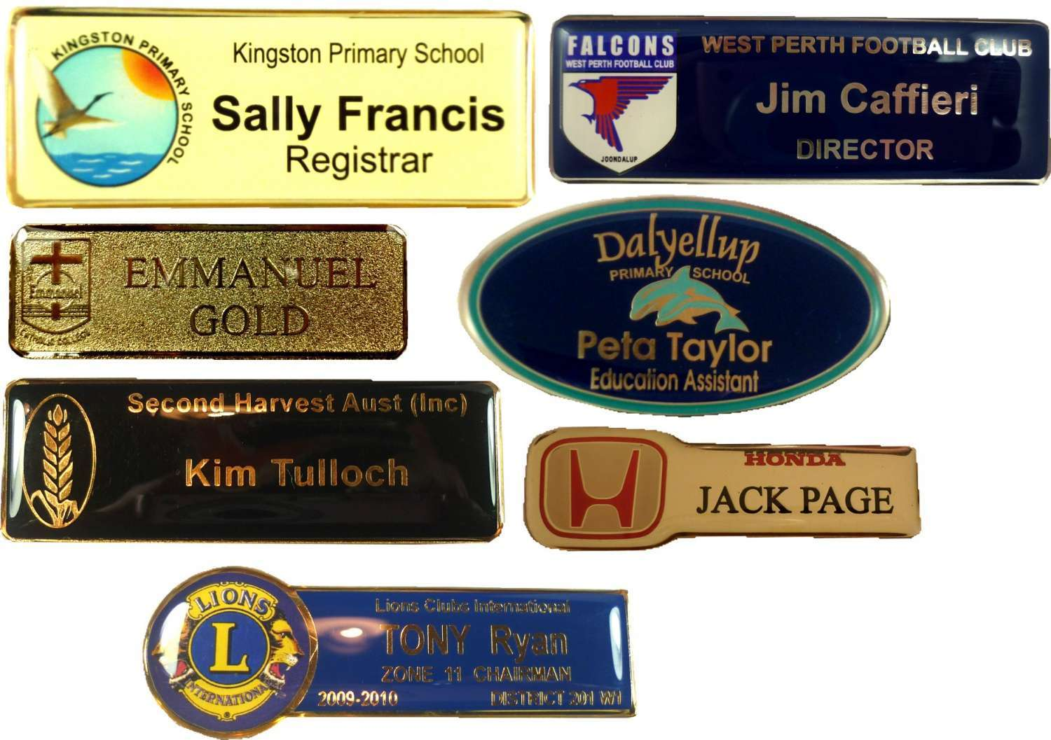 Name Badge: Western Australia Products