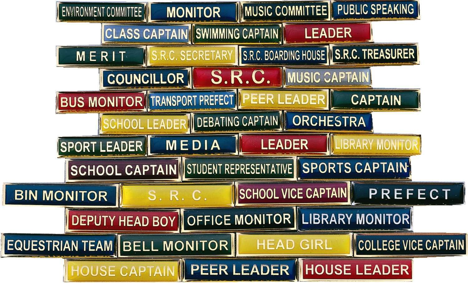 School Title Bar Badges